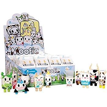 Amazon Com Tokidoki Moofia Mini Figures Box Of 24 Toys