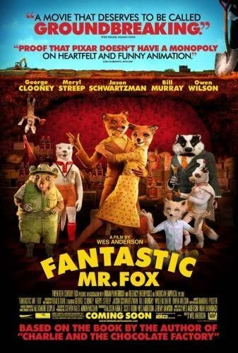 Amazon Com Fantastic Mr Fox Movie Poster 24in X36in Prints Posters Prints