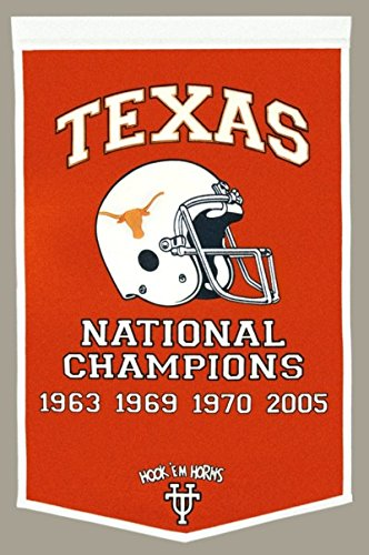 Texas Longhorns Fan Ncaa Banner - Winning Streak NCAA Texas Longhorns Dynasty Banner