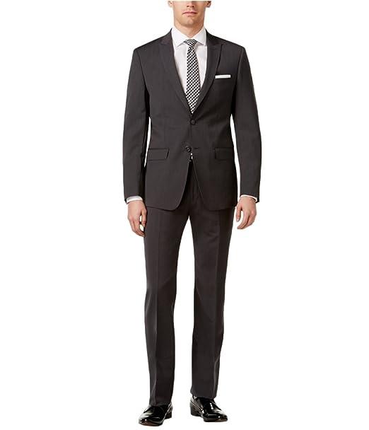 Amazon.com: calvin klein para hombre traje de dos botones de ...