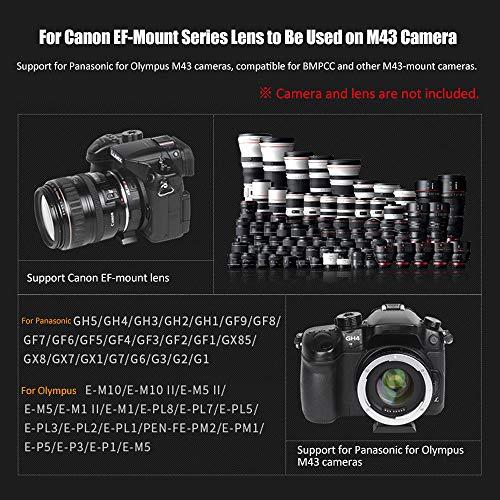 VILTROX EF-M2 Auto Focus Lens Mount Adapter 0 71X for Canon