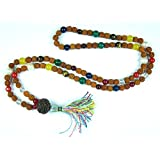 Nine Planet Navgraha Astrological Mala Prayer Yoga Meditation Bead Navratna Japa Malas