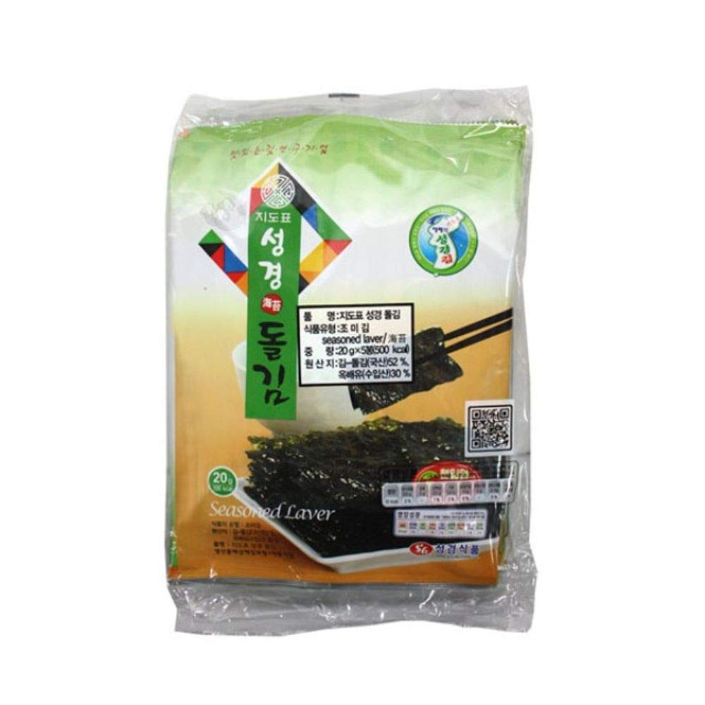 Sungyung Seaweed 20g x 5packs x 6 by Sung Gyung Food (Image #1)