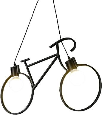 Nórdico Personalizado Araña de Hierro Forjado Creativo Bicicleta ...