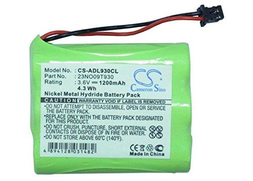 Cameron Sino 3.6V 1200mAh Rechargeable Cordless Phone Bat...