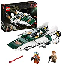 LEGO Star Wars TM - Caza Estelar Ala-A de la Resistencia, Set de Construcción de una Nave Espacial de la Guerra de las Galaxias Episodio IX: El Ascenso de Skywalker, A partir de 7 años (75248)