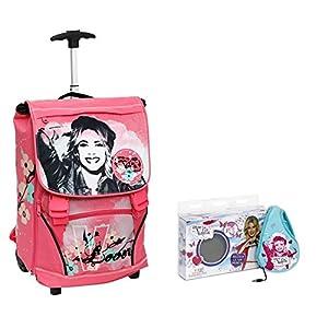 Giochi Preziosi Zaino Trolley Deluxe Violetta con Cuffie