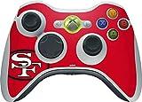 xbox 360 controller cover nfl - NFL - San Francisco 49ers - San Francisco 49ers Retro Logo - Skin for 1 Microsoft Xbox 360 Wireless Controller