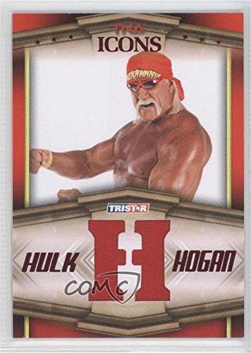 Hulk Hogan #10/25 (Trading Card) 2010 TRISTAR TNA Icons - Hulk Hogan Bandana Letters - Red ()