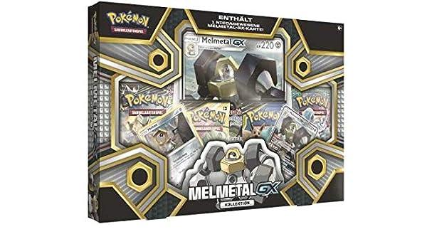 Amigo Pokémon Melmetal-GX Colección: Amazon.es: Juguetes y juegos