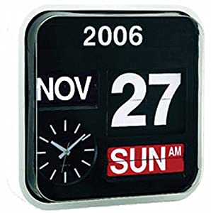Amazon Com Wall Hanging Flip Clock With Large Numbers