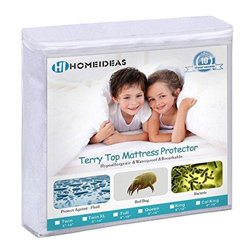 Queen Size Mattress Protector Bed Sheet Cover Waterproof