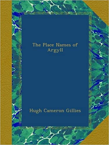 Book The Place Names of Argyll