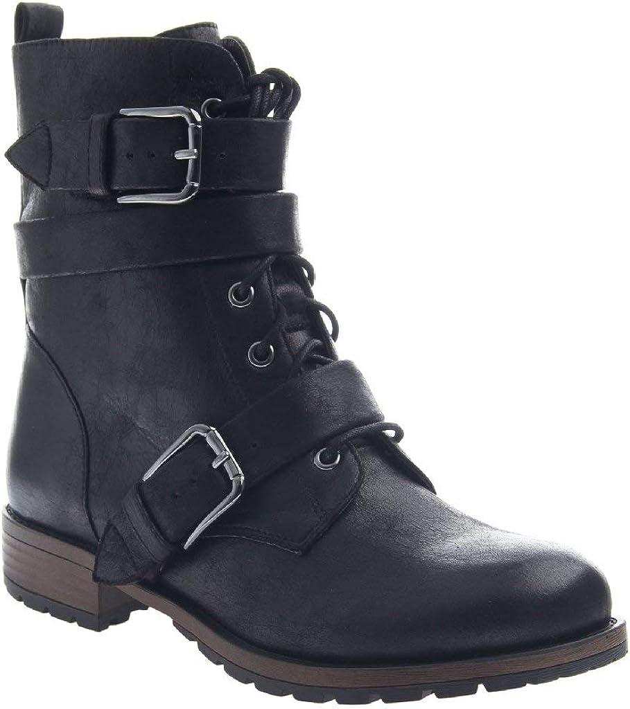 Madeline Womens Snapdragon Fabric Closed Toe Mid-Calf Fashion Black Size 8.5