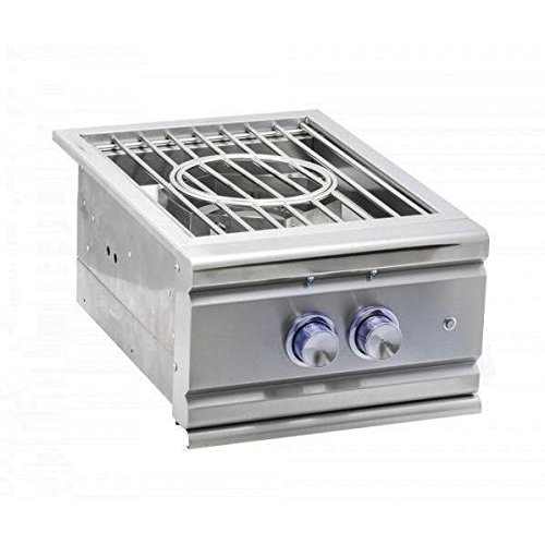 Rcs Pro Series Built-in Power Burner W/Stainless Steel Lid - Natural Gas - Rsb3ng ()