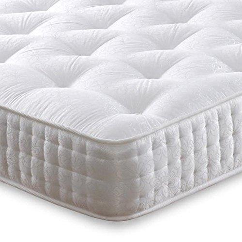 Cheap Beds Direct Giubileo 1000Molle insacchettate Medium/Firm Materasso Matrimoniale 4'6 Prezzi offerte