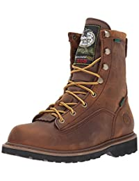 Georgia Boys' Insulated Outdoor Waterproof Lace-Up Boot