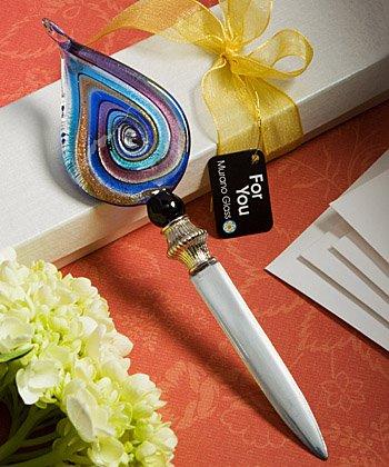 Murano Glass Collection Letter Opener Favors (Multi-Color), Health Care Stuffs