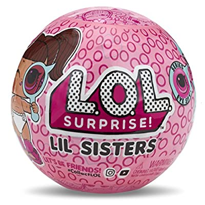 L.O.L. Surprise! Lil Sisters Ball Eye Spy Series: Toys & Games