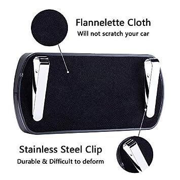 Black FMS Genuine Leather Car Tissue Case Holder Putting on Car Dashboard /& Armrest Car Decoration A Pack Tissue Refill