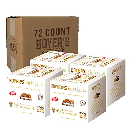 Butterscotch Toffee - Butterscotch Toffee Flavored Coffee, K-cup compatible, 72ct