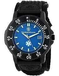 Smith & Wesson Mens SWW-455-EMT EMT Black Nylon Strap Watch