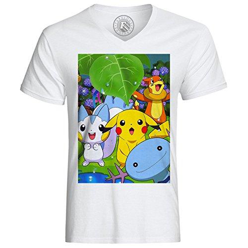 T-shirt Pikachu è carino amici pokemon