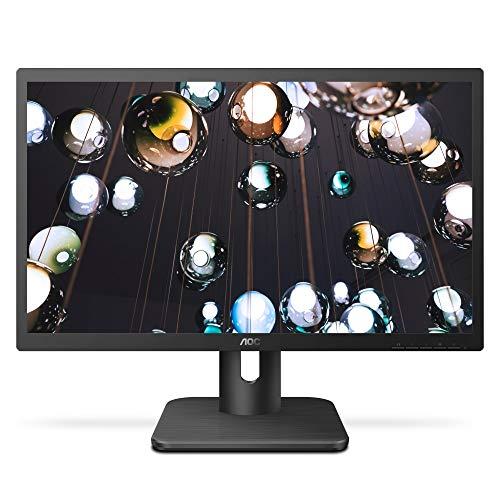 AOC 22E1H 21.5″ HD 1900×1080 Monitor, 5ms, Flickerfree, HDMI/VGA, Vesa Compatible, Epeat Silver, EnergyStar