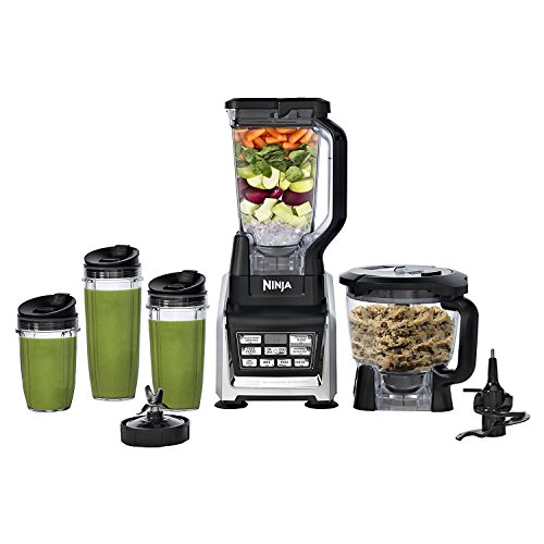 Nutri Ninja Ninja Blender System with Auto-IQ, Includes (2) 24oz and (1) 32oz cups (BL682Z)