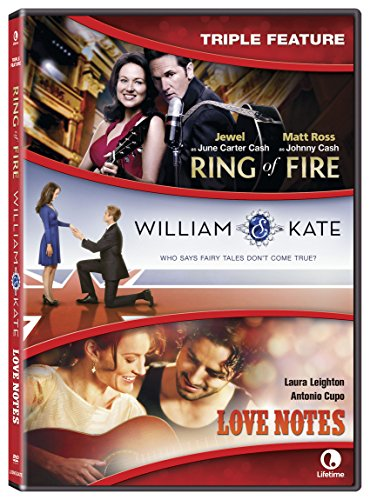 Ring Of Fire/ William and Kate/ Love Notes (Full Frame, Widescreen, Subtitled, Dolby, AC-3)