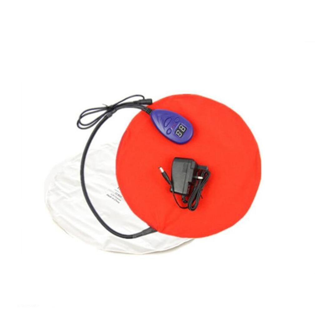 PLYY Pet Heizkissen, elektrische Heizkissen, Wasserdichte Biss Niederspannung Heizkissen 25 Grad-55 Grad 7 Dateien Thermostat PVC Haut