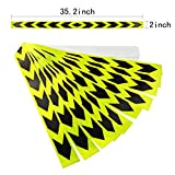 Best  - Zyhw 10 Pcs Adhesive Auto Car Garage Reflective Review