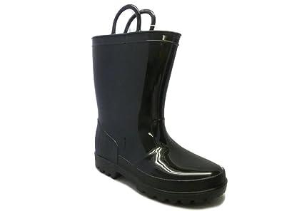 Ska Doo Black Little Kid Youth Rain Boots 1 M US Little Kid