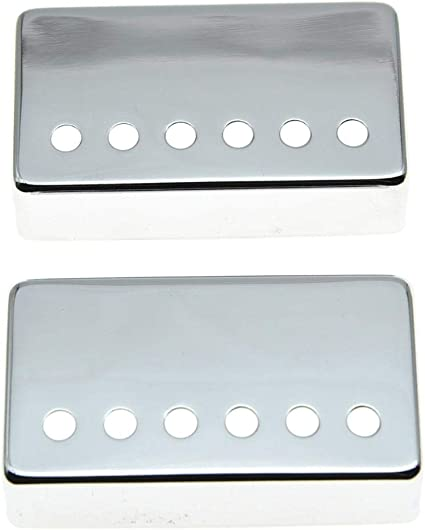 50mm or 52mm chrome finish Humbucker cover 12 hole style
