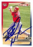 Brad Wilkerson autographed Baseball Card (Washington Nationals) 2005 Topps Total #276