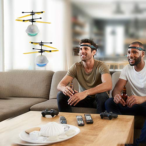 Diditech Mind Sensor Flying Ball Infrared Induction Flying Toy Attention Training Plane DIY Helicopter for Ten Year Old and Above by Diditech (Image #3)