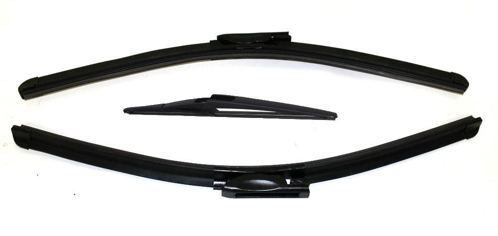 AERZETIX: Juego de 3 limpiaparabrisas delanteras y traseras 65/40/30cm - C3793C3802C3858: Amazon.es: Coche y moto