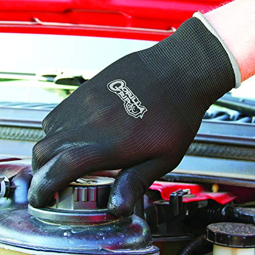 Grease Monkey Gorilla Grip Slip Resistant All Purpose Work Gloves 25 Pack (X-Large) by Grease Monkey (Image #1)