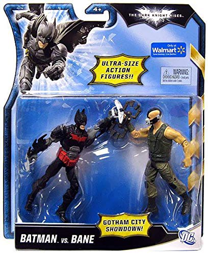 The Dark Knight Rises Ultra-Size Action Figures Gotham City Showdown Batman vs Bane