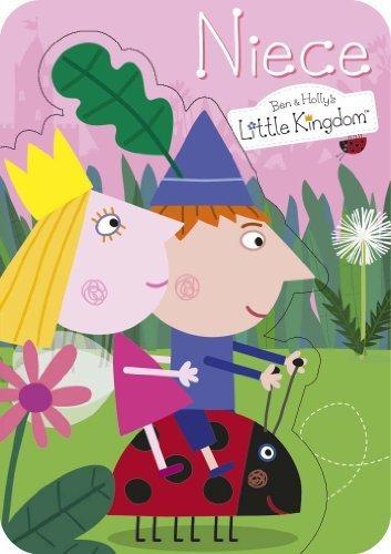Ben & Holly s Little Kingdom Niece Tarjeta De Cumpleaños ...