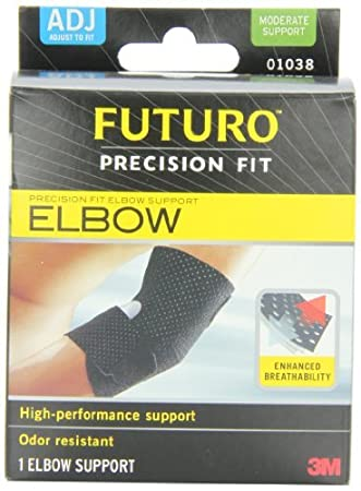 0d5a36287e Image Unavailable. Image not available for. Color: Futuro Infinity  Precision Fit Elbow ...