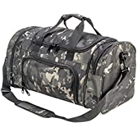 XWLSPORT Military Tactical Duffle Bag Travel Sports Bag Outdoor Gym Bag Army Carry On Bag Lightweight Duffel Bag Great for Travel Camping Hiking Gym or Other Outdoor Activities