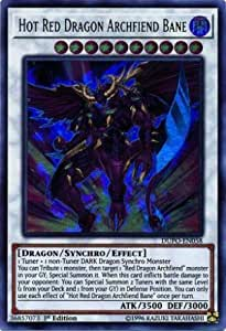 Yugioh Hot Red Dragon Archfiend Abyss DUPO-EN057 Ultra Rare 1st Ed