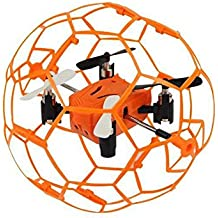 Lanlan RC-Helicopter M70 Mini Remote Control Drone Multi-functional Four-axis Aircraft Toys as Xmas Gift Orange