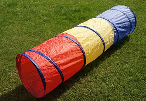 6-feet Play Tunnel Toy Tent Child Kids Pop up Discovery Tube (Kids Tunnels)