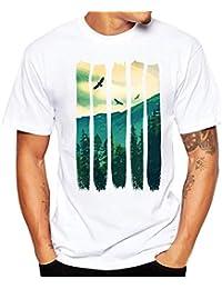 Men Tees, Clearance Sale Vintage Big Tall Graphic Short Sleeve T-shirt Tee Shirt