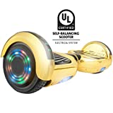 Gyrocopters Pro Self Balancing Scooter Hoverboard UL2272 Certified, Wireless Bluetooth Speaker and LED Light on top and in wheels