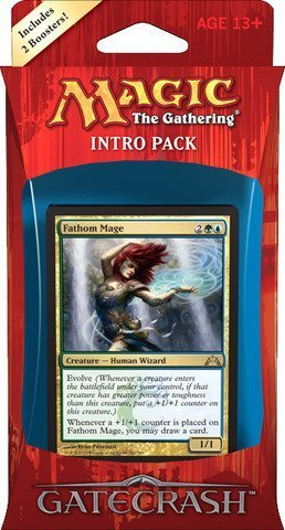 Wizards of the Coast Magic the Gathering (MTG) Gatecrash Intro Pack: Simic Synthesis (Includes 2 Booster (Wizards Of The Coast Magic)