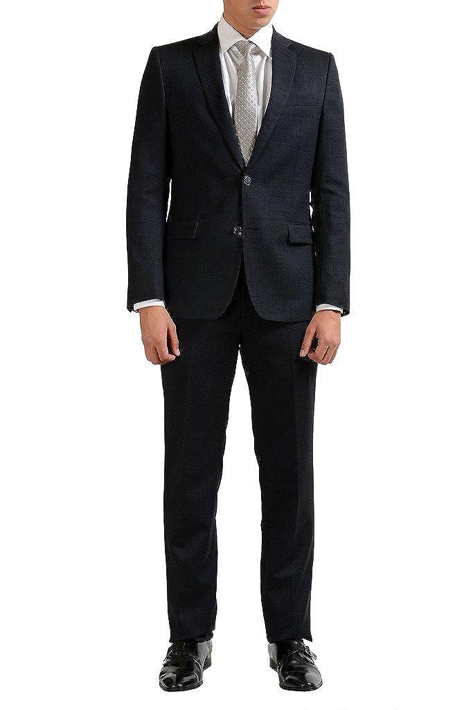 Versace Collectionウールグレー2つボタンメンズスーツ B01M8OTTG2 US 38 IT 48;|グレー グレー US 38 IT 48;