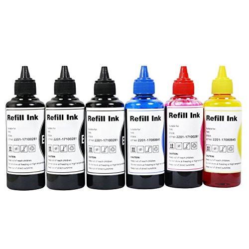 CoYlBod Refill Ink Kit 273 273XL XP-820 XP-810 XP-800 XP-720 XP-710 XP-700 XP-620 XP-610 XP-600 XP-520 XP-510,use for Refillable Cartridges or CISS ()